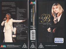 BARBRA STREISAND - THE CONCERT - VHS - N&S - 103min PAL