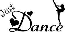 Just Dance - girls dancers vinyl wall decals