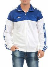 Adidas Chaqueta deportiva hombre Blanco Azul Warm Up ai4701