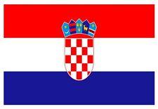 Bandiera Croazia -Stikers - Adesivo-Decorazione auto moto casa veicoli