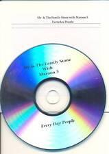 MAROON 5 Everyday People RARE AUS Promo CD Single