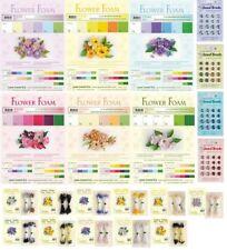 LeCrea Design Fiore Set di fogli di schiuma, Stame Pack, gioiello Brads, Die Taglio