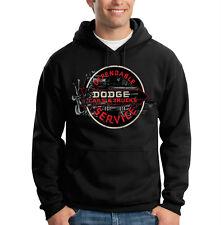 Dodge Cars Trucks Dependable Service Logo Ram Hooded Sweatshirt Hoodie