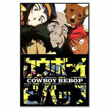 Cowboy Bebop Silk Canvas Poster Japan Anime Wall Art Print 12x18 24x36 inch