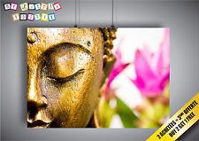 Poster ZEN BUDDHA BUDDHA SWEET HOME DECO