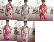 asian chinese Cheongam Girls dress1-9 yrs FLORA Silk girls dance dress,UK SELLER