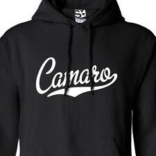 Camaro Script & Tail HOODIE - Hooded Muscle Car Sweatshirt - All Sizes & Colors