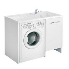 Mobile lavanderia lavatoio da Interno design bianco con ampio maniglione