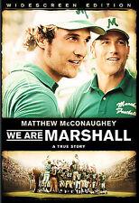 ~ WE ARE MARSHALL ~ DVD 2007 WS DRAMA MATTHEWMCCONAUGHEY BUY5+MXDGETFREESHIPPING