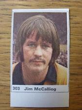 1971/1972 Marshall cavenish Cut-out/etiqueta: Wolverhampton Wanderers-Jim Mccal