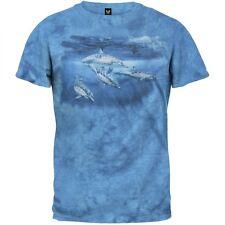 Blue Water Nomads Tie Dye Adult Mens T-Shirt