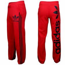 Adidas Linear Trackpant Trefoil Trainingshose Jogginghose Sporthose [XS-XL] rot