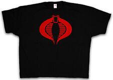 XXXXL COBRA COMMAND T-Shirt - GI Commander Logo Film Joe Chemise 4XL 5XL XXXXXL