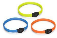 Karlie Visio Light LED Halsband Langhaar Li-Ion Akku üb.USB Reichweite bis 500m