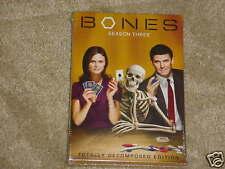 Bones - Season 3 DVD NEW SEALED