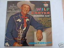 "WILF CARTER  ""MONTANA SLIM""  (1964)"