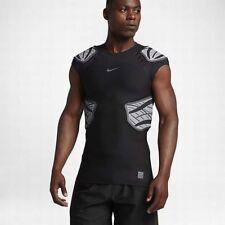 Nike Hyperstrong 4 Pads Mens Football Sleeveless Top Shirt Black 838431-010 $90