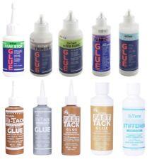 Hi Tack Trimits Glue Adhesive Fray Stop Fabric Stiffener PVA Fast Tack No Sew