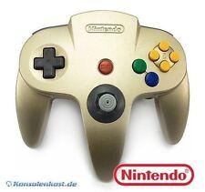Original Nintendo N64 Controller / Gamepad #Gold - Zustand auswählbar