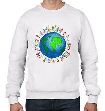 Christmas World Planet Earth Men's Sweater  Jumper