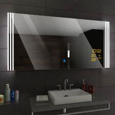 ARICA Illuminated Led bathroom mirror  - Weather Station - Switch - Demister