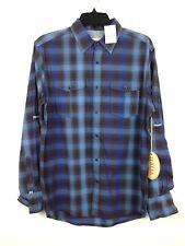 Italia Vintage Shirt New Men's Blue MSRP: $98.00 Button-Front