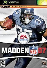 Madden NFL 07 (Microsoft Xbox, 2006)
