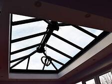 Grey Aluminium  Lantern Roof (upvc clad) - Grey Self-cleaning Lantern Roof #04
