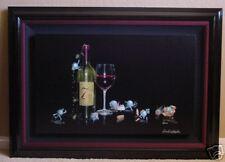 "*Michael Godard-""SEVEN DEADLY ZINS"" Wine-VINTNER-Art-7*"