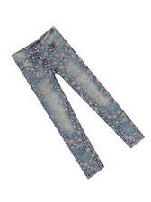 George Indigo Blue Floral Skinny Denim Jeans Age 5 6 7 8 10 12 14 16 BRAND NEW