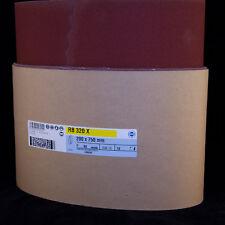 Hermes - Sanding Belts 8 inch - 200mm x 750mm - Alu Oxide (red) 120G