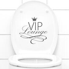 Wandtattoo Wandsticker Wandaufkleber Badezimmer VIP Lounge WC Aufkleber W734