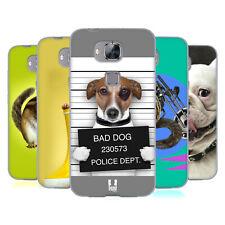 Head Case Designs Funny Animals Soft Gel Case For Huawei G8 Gx8
