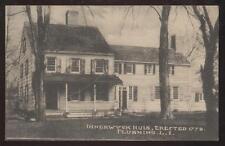 Postcard FLUSHING, LONG ISLAND ,New York/NY   INNERWYCH HOUSE/HOME HUIS 1907?