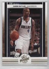 2009 Panini Season Update Gold #49 Caron Butler Dallas Mavericks Basketball Card