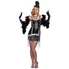 Flapper Costume Adult 1920s Halloween Fancy Dress