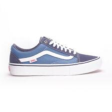 Vans Old Skool Pro (Navy/STV Navy/White) Men's Skate Shoes