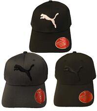 957e1da6c5e PUMA Athletic Adult Baseball Cap Stretch Fit Puma logo Moisture Mesh Hat Cap