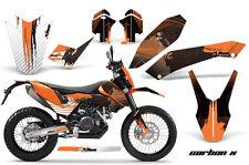 AMR RACING KTM GRAPHIC KIT STICKER DEKOR 690 SM/ENDURO BIKE PART 08-11 CARBON OG
