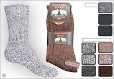 4 Paar Norweger Socken strümpfe mit Schafwolle  Plüschsohle 39 - 46