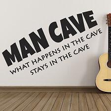 Autocollant Mural Grotte de l'Homme - ce qui se passe dans la grotte séjours dans la grotte Mur Art