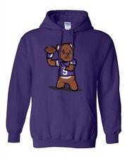 Teddy Bear Quarterback Sports Football Minnesota Funny Fan DT Sweatshirt Hoodie