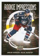 08/09 UPPER DECK ROOKIE IMPRESSIONS Hockey (#RI1-RI30) U-Pick from List