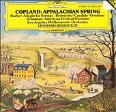 Copland: Appalachian Spring / Barber: Adagio Aaron Copland, Samuel Barber, Leon