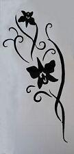 Sticker autocollant branche d'orchidée,chambre,lit, voiture, portable etc....