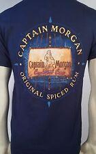 Captain Morgan Cocktail Crew Original Spiced Rum Alcohol Ale Pirate Mens T Shirt