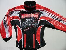 Nuevo Wulfsport Speedway chaqueta (todos Tamaños) Abanico Rojo partidario Wulf Aces Abejas Estrellas
