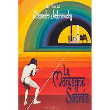 THE HOLY MOUNTAIN Movie Silk Poster 12x18 24x36 inch Alejandro Jodorowsky