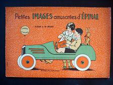Vintage RARE Imagerie Pellerin Petites Images Amusantes d'Epinal Book Inv1305