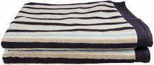 Striped Premium Long-Staple Cotton Bath Sheet Set, 2-Piece, 4 Colors
